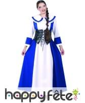 Costume de Louise bleue