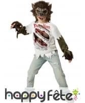 Costume de loup-garou pour enfant, Premium