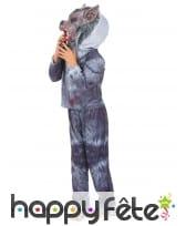 Costume de loup garou rembourré pour enfant, image 1