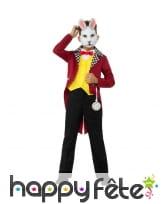 Costume du lapin blanc d'Alice pour enfant