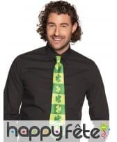 Cravate de la Saint Patrick pour adulte