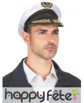 Casquette de marin pour homme adulte, image 3