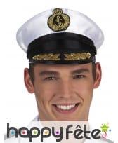 Casquette de marin pour homme adulte