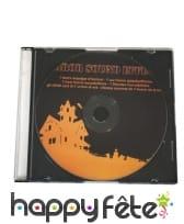 CD de musiques pour Halloween