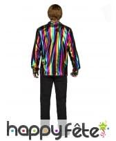 Chemise disco multicolore pour homme, image 1