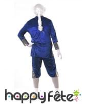 Costume de marquis pour homme, bleu et doré, image 1
