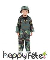 Costume de militaire pour enfant
