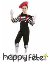 Costume de mime pour fille, image 1