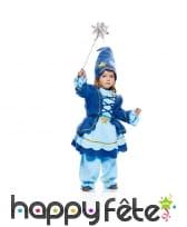 Costume de mini fée bleue