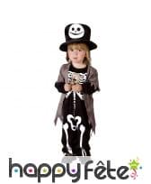 Costume de mini squelette