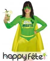 Costume de Miss Mojito