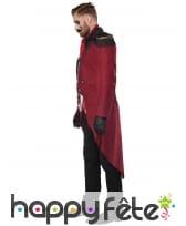 Costume de Monsieur Loyal sinistre pour adulte, image 3