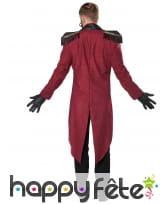 Costume de Monsieur Loyal sinistre pour adulte, image 4