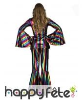 Costume disco multicolore pour femme, image 1
