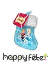 Chaussette de Noël La Reine des Neiges, 17 cm