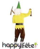 Costume de nain jaune pour homme, image 1