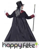 Costume de noble vampire rouge et noir, adulte, image 3