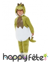 Costume d'oeuf de dinosaure éclot pour tout petit