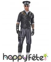Costume d'officier steampunk pour daulte