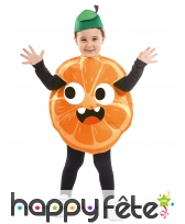 Costume d'orange pour enfant