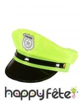 Casquette de police jaune, image 1