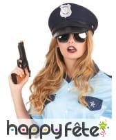 Casquette de policier bleue foncée, image 1