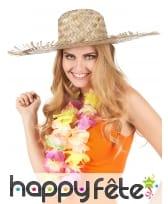 Chapeau de paille Hawaïen, image 3