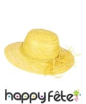 Chapeau de paille vintage coloré, image 4