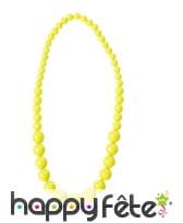 Collier de perles grossissantes fluo, image 2