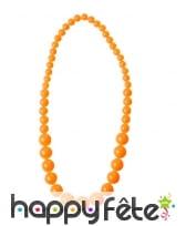 Collier de perles grossissantes fluo, image 3