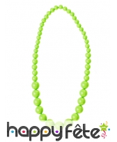 Collier de perles grossissantes fluo, image 4