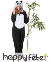 Combinaison de Panda pour femme