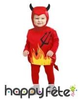 Combinaison de petit diable pour bébé