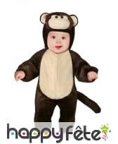 Combinaison de petit singe pour bébé