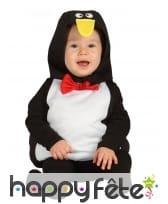 Combinaison de pingouin pour bébé