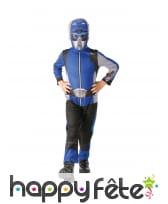 Combinaison de Power Rangers bleu pour enfant, image 2