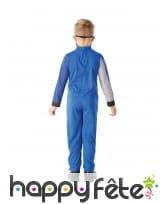 Combinaison de Power Rangers bleu pour enfant, image 3