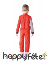 Combinaison de Power Rangers rouge pour enfant, image 2
