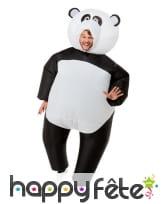 Costume de panda gonflable pour adulte, image 1
