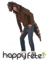 Costume de pangolin pour adulte, image 1