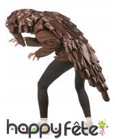 Costume de pangolin pour adulte