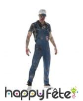 Costume de péquenaud zombie Hillbilly