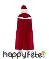 Costume de père noël avec large cape, image 2