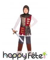Costume de petit chevalier médiéval pour enfant