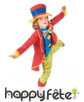 Costume de petit clown rouge et jaune, image 1