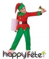 Costume de petit Elfe de Noël pour enfant, image 2