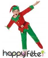 Costume de petit Elfe de Noël pour enfant