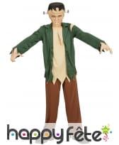 Costume de petit Frankenstein