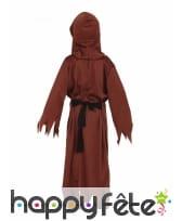 Costume de petit moine squelette, image 1