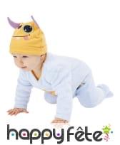 Costume de petit monstre bleu pour bébé, image 1